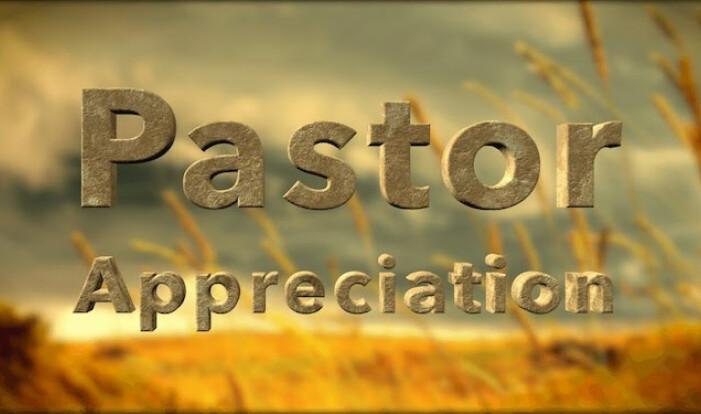 Pastor Appreciation Day - Oct 13 2019