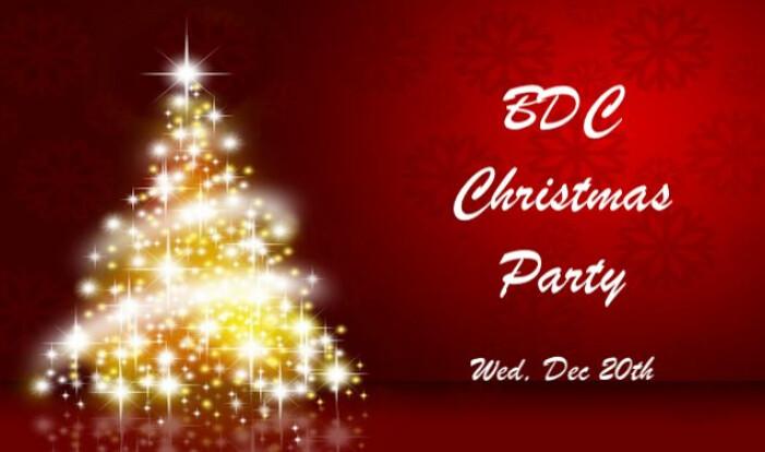 BDC Christmas Party - Dec 20 2017 7:00 PM