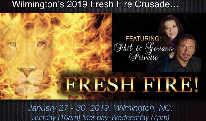 Wilmington's Fresh Fire Crusade 2018 Kick Off - Jan 28 2018 10:00 AM