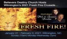 Wilmington's Fresh Fire Crusade 2021 - Jan 31 2021